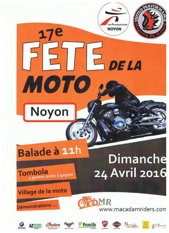 festival macadam s riders 17e f te de la moto de noyon ducs de normandie chapter france. Black Bedroom Furniture Sets. Home Design Ideas